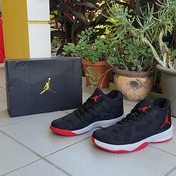 quality design f38d6 4b5e7 Jordan B. Fly Mens Black Basketball Shoes